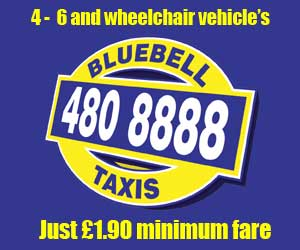 bluebell taxis